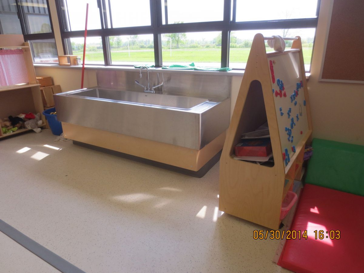 Smith School Water Table